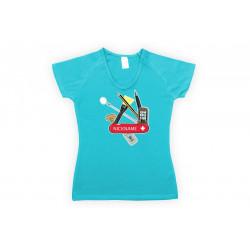 Tričko Swiss geo dámské