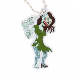 Tiffany Zombie travel tag
