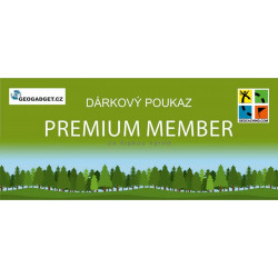 Dárkový poukaz Premium Member