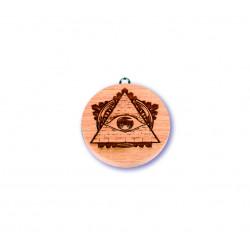 Medaile s očkem 7cm